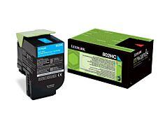 Lexmark 802H - cyan - cartouche laser d'origine