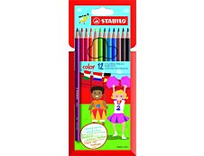 STABILO color - 12 Crayons de couleur