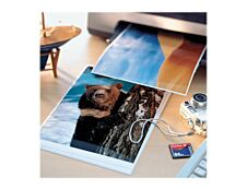 Avery - Papier Photo brillant - A4 - 160 g/m² - impression jet d'encre - 50 feuilles