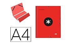 Antartik - Trieur 12 positions - A4 - rouge
