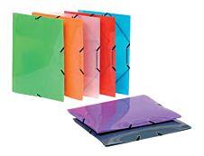 Viquel Propyglass - Chemise polypro à rabats - A4 - disponible dans différentes couleurs