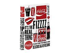 Viquel Coca-Cola - Classeur à anneaux - Dos 25 mm - A4 - disponible dans différentes couleurs