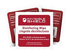 ZAGG InvisibleShield - 10 Lingettes désinfectantes