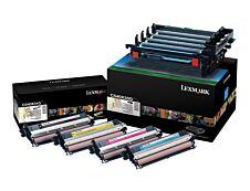 Lexmark C540X74G - Pack de 4 - noir, cyan, magenta, jaune - Kit image d'origine