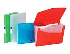 Viquel Propyglass - Classeur ménager (valisette trieur) 6 onglets - disponible dans différentes couleurs