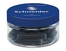Schneider - 30 cartouches d'encre - bleu