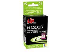 HP 302XL - remanufacturé Uprint H.302XLC - cyan/magenta/jaune - cartouche d'encre