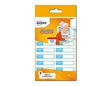 Avery - 36 Étiquettes autocollantes pré-imprimées - 45 x 100 mm