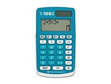 Calculatrice scolaire TI-106 II - calculatrice spéciale primaire