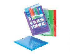 Viquel Propyglass - Chemise personnalisable à rabats - A4 - disponible dans différentes couleurs