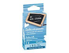 Wonday - 10 Craies  blanches - anti poussière