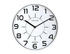 Unilux - Horloge Pop - mécanisme quartz - 28 cm - gris métal