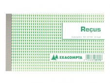 Exacompta - Manifold Carnet de reçus - 50 dupli - 11 x 18 cm