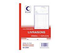 ELVE - Manifold Carnet de livraisons - 50 dupli - 21 x 14 cm
