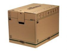 Bankers Box SmoothMove FastFold - 5 cartons déménagement 127L - Fellowes