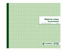 Exacompta - Registre unique du personnel - 27 x 32 cm
