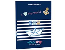 Holidays - Cahier de textes assorti - 15 x 21 cm - KIP by Kid'abord