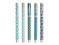 Ink Metal - Roller bleu paon - différents modèles disponibles