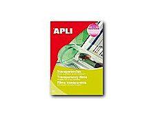 Apli Paper - Films transparents universels pour rétroprojecteur - A4 - 20 feuilles