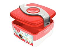 Maped Picnik Origins - boîte à déjeuner - rouge - 1.4 L