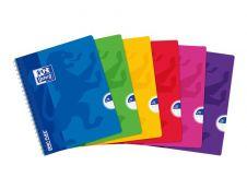 Oxford Openflex - Cahier polypro 17 x 22 cm - 100 pages - grands carreaux (Seyes) - disponible dans différentes couleurs