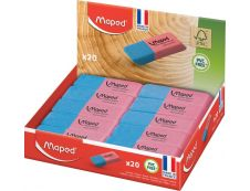 Maped - Pack de 20 gommes Duo Gom Large - FSC mix
