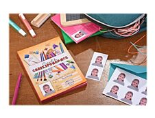 Avery - 18 Photos d'identité autocollantes - 45 x 35 mm