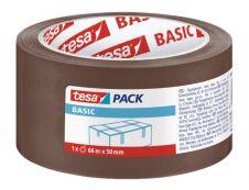 Tesapack Basic - 6 Rubans adhésifs d'emballage - 50 mm x 66 m - transparent