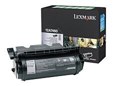 Lexmark 12A7460 - noir - cartouche laser d'origine