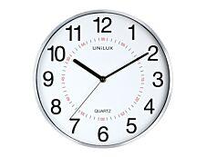 Unilux - Horloge Aria - mécanisme quartz - 28,5 cm - gris métal