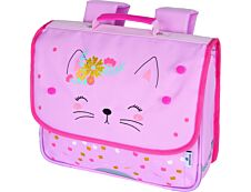 Cartable Chaton 35 cm - 1 compartiment - Oberthur