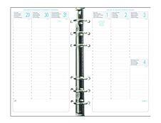 Exacompta Exatime 17 - Recharge pour organiseur - 1 semaine sur 2 pages à la verticale - 16 mois - 10,5 x 17,2 cm
