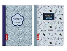 Kickers - Cahier de textes 15,5 x 22 cm - 2 décors au choix - Oberthur