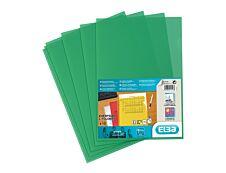 SHINE - 10 Pochettes coin - A4 - pour 25 feuilles - 12/100 - vert cristal