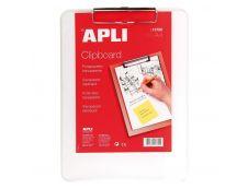 Apli - Porte bloc - A4 - transparent