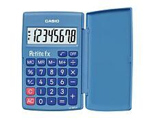 Calculatrice de poche Casio Petit-FX LC-401LV - 8 chiffres - alimentation batterie - bleu