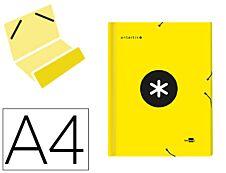 Antartik - Trieur 12 positions - A4 - jaune fluo