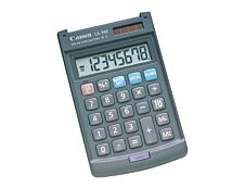 calculatrice de bureau Canon LS-39E- 8 chiffres - alimentation batterie et solaire