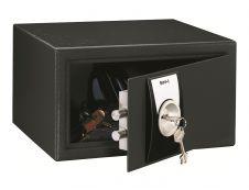 Reskal SM 1 - Coffre-fort 9,9L à clé - acier noir