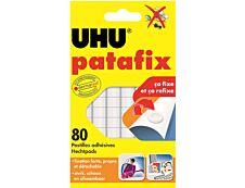 UHU - 80 pastilles adhésives blanches