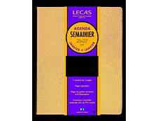 Agenda Lecas Classique - 1 Semaine sur 2 pages - 21 x 27 cm - différents modèles disponibles