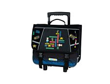 KIP Gamer - Cartable à roulettes 41 cm - 2 compartiments - Kid'Abord