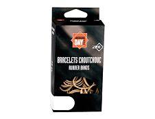 Wonday - Bracelets caoutchouc - élastiques - 0.18 cm x 15 cm - 100 g