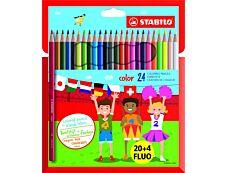STABILO Color - 24 Crayons de couleur