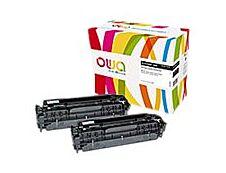HP 304A - remanufacturé Owa K35132OW - pack de 2 - noir - cartouche laser