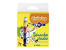 Wonday - étui de 5 tubes gouache - 12 ml