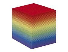 Quo Vadis - Bloc Cube - arc en ciel