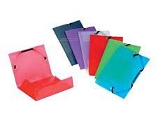 Viquel Propyglass - Chemise polypro à rabats - 12 x 16 cm - disponible dans différentes couleurs