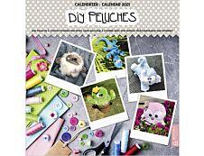 Bouchut DIY - Calendrier illustré mensuel - 30 x 30 cm