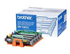 Brother DR130CL - noir, cyan, magenta, jaune - original - tambour pour imprimante